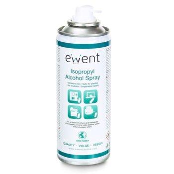 Почистващ спрей Ewent EW5613, за компютри, принтери, видеоекрани, плотери, фотокопири, таблети, 200мл image