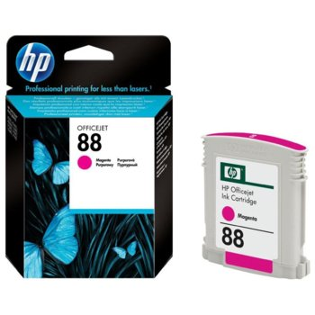 ГЛАВА HP Officejet Pro Series K550 - Magenta Ink - P№ C9387AE - заб.: 10ml image