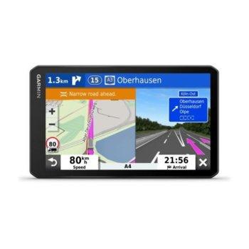 "Навигация за автомобил Garmin dēzl™ LGV700, 7""(17.78cm) IPS TFT дисплей, Wi-Fi, Bluetooth, microSD слот, карта на Европа, доживотно обновяване image"