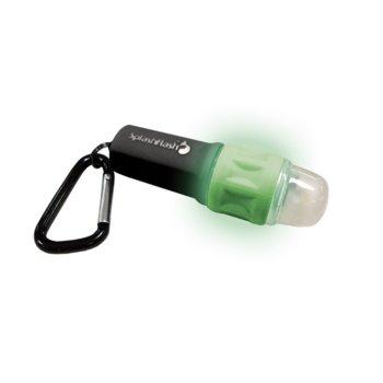 Фенер UST Brands SplashFlash, 1x AAA, 25 lumens, водоустойчив, джобен, зелен image