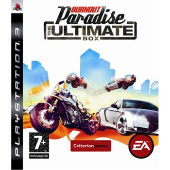 Игра за конзола Burnout Paradise: The Ultimate Box, за PlayStation 3 image