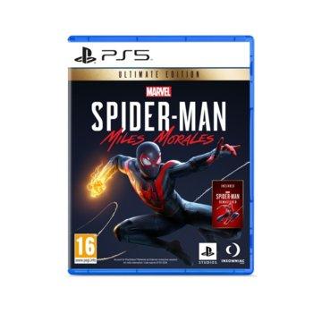 Игра за конзола Marvel's Spider-Man: Miles Morales Ultimate Edition, за PS5 image