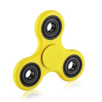 Спинър Fidget Spinner, жълт, пластмаса, 8+ image