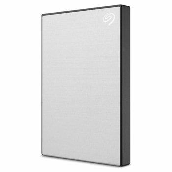 """Твърд диск 1TB Seagate Backup Plus Slim (сребрист), външен, 2.5"""" (6.35 cm), USB 3.0 image"""