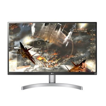"Монитор LG 27UL600-W, 27"" (68.58 cm) IPS панел, 4K/UHD, 5ms. 5 000 000:1, 350cd/m2, DisplayPort, HDMI  image"
