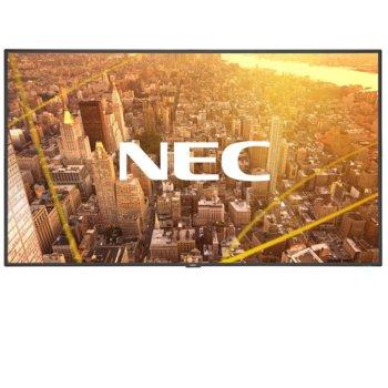 "Публичен дисплей NEC C501, 50""(127 cm), Full HD, VGA, HDMI, DisplayPort, RS232, LAN, черен image"