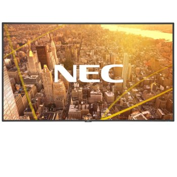 "Публичен дисплей NEC C501, 50""(127 cm), Full HD, VGA, HDMI, DisplayPort, RS232, LAN, черен image"