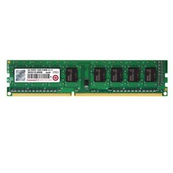 Памет 2GB DDR3, 1600 MHz, UDIMM, Transcend image