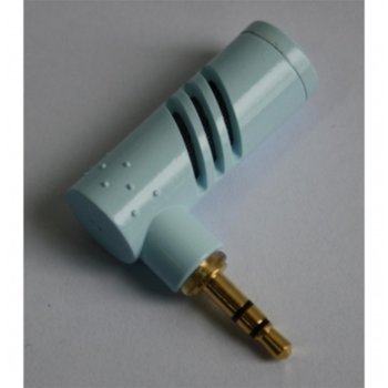 Микрофон Digital One SP00089, 3.5 mm жак, малък-преносим, светлосин image