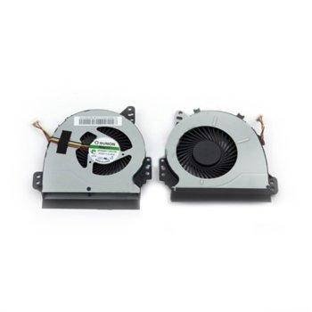 Вентилатор за лаптоп, съвместим с Toshiba Satellite L40-A L40D-A L40t-A image