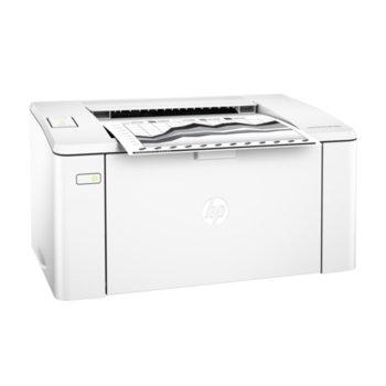 Лазерен принтер HP LaserJet Pro M102w, монохромен, 600x600 dpi, 22 стр/мин, Wi-Fi, USB, A4 image