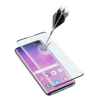 Протектор от закалено стъкло /Tempered Glass/ Cellular Line, за Samsung Galaxy S10+ image