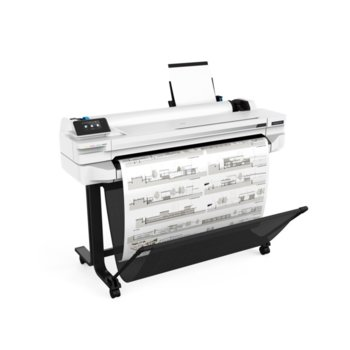 Плотер HP DesignJet T525 36-in, 2400 x 1200, 1GB памет, Wi-Fi, LAN, USB, A0 image