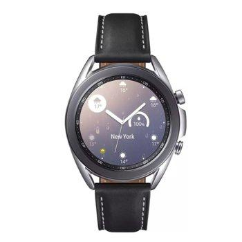 "Смарт часовник Samsung Galaxy 3 R850 (SM-R850NZS), 1.2"" Super AMOLED дисплей, Bluetooth v5.0, NFC, Wi-Fi, 5ATM / IP68, сребрист image"