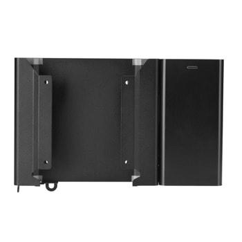 Монтажен елемент HP Dual VESA Sleeve + PWR Supply Holder, черен image
