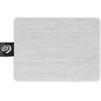 "Памет SSD 500GB, Seagate One Touch White (STJE500402), USB 3.0, външно, преносимо, 2.5"" (6.35 cm) image"