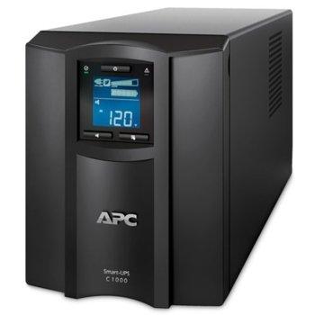 UPS APC Smart-UPS C, 1000VA/600W, Line Interactive, Tower image