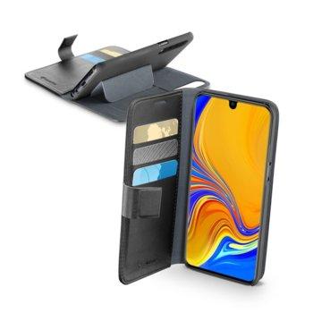 Калъф за Samsung Galaxy A70, еко кожа, Cellularline Book Agenda, черен image