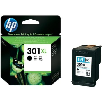 ГЛАВА HP DeskJet 1050/2050/2050s - Black - (301XL) - P№ CH563EE - заб.: 480 брой копия image