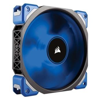 Вентилатор 120mm, Corsair ML120 PRO LED Blue, 4-pin, 2000 rpm, синя подсветка, технология за магнитна левитация image