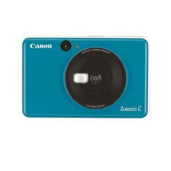 "Фотоапарат Canon Zoemini C (син), за моментни снимки, 5MP, макс. размер на снимки 2.0"" x 3.0"", светкавица, , Micro SD карта image"