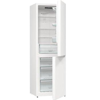 Хладилник с фризер Gorenje NRK6191EW4, клас A+, 320 л. общ обем, свободностоящ, 306 kWh/годишно разход на енергия, NoFrost Plus, AdaptTech, EcoMode, бял image
