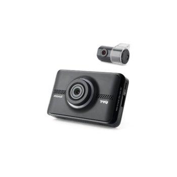 "Видеорегистратор IROAD T9F-2CH-16G, камера за автомобил, FullHD(1920×1080@30fps), 3.5""(8.89cm) IPS дисплей, Micro SD слот, Wi-Fi USB Slot  image"