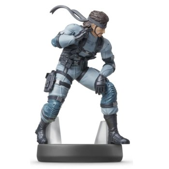 Фигура Nintendo Amiibo - Snake no.75 [Super Smash], за Nintendo Switch image
