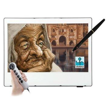 """Графичен таблет Yiynova MVP22U+FE (бял), 21.5"""" (54.62 cm) Full HD дисплей, 4000 lpi, 2048 нива на натиск, DVI, USB image"""