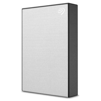 """Твърд диск 4TB, Seagate Backup Plus Portable STHP4000401 (сребрист), външен, 2.5"""" (6.38 cm), USB 3.0 image"""