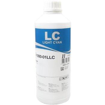 Тонер бутилка за Epson T2425/T2435/T2775/T277XL5/T3785, Light Cyan, InkTec 8803663006967, Неоригинален, заб: 1 kg image