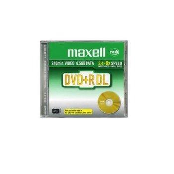 Оптичен носител DVD+R 8.5GB, Maxell Dual Layer, 1 бр. image
