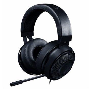 Слушалки Razer Kraken 2019, микрофон, гейминг, черни image