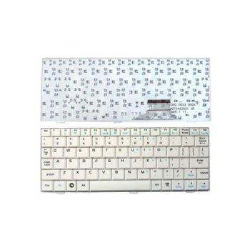 Клавиатура за ASUS EEE PC 700/701/900/901, бяла, US image