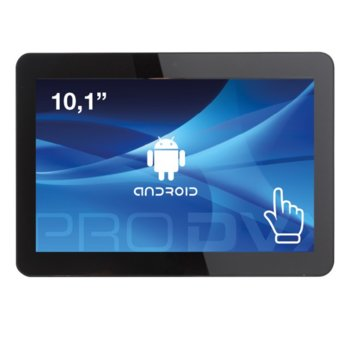 """All in One компютър ProDVX APPC-10DSK, четириядрен Cortex A17 1.6 GHz, 10.1"""" (25.65 cm) WXGA LED Capacitive Multi Touch Display & MALI T764, 2GB DDR3, 8GB Flash ROM, USB 2.0, Android 6.0 image"""