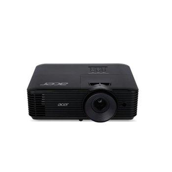 Проектор Acer X118H, DLP, 3D ready, SVGA (800 x 600), 20 000:1, 3600lm, HDMI, VGA, AUX  image