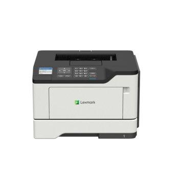 Лазерен принтер Lexmark B2546dw, монохромен, 1200 x 1200 dpi, 44 стр/мин, USB, LAN, Wi-Fi, A4 image