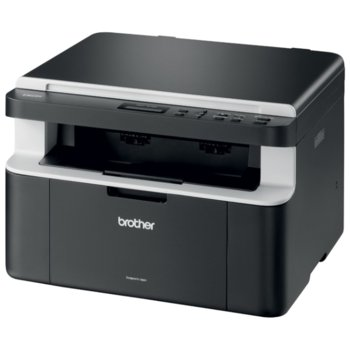 Мултифункционално лазерно устройство Brother DCP-1512E, монохромен принтер/копир/скенер, 2400x600dpi, 20стр/мин, USB, A4 image
