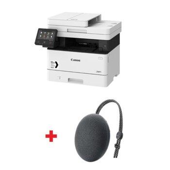 Мултифункционално лазерно устройство Canon i-SENSYS MF449x с подарък тонколона Huawei Sound Stone Bluetooth Speaker CM51 (черна), монохромен, принтер/копир/скенер/факс, 600 x 600 dpi, 38стр./мин, USB, LAN, Wi-Fi, A4 image