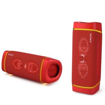 Тонколона Sony SRS-XB33, 2.0, Bluetooth 5.0, NFC, 24 часа време за работа, USB-Type-C, IP67 рейтинг, червена image