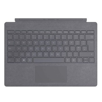 Клавиатура Microsoft Surface Go Type Cover, подсветка, мултимедийни бутони, сива  image