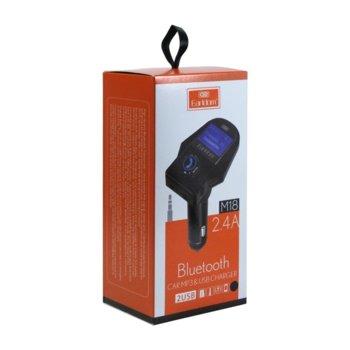 FM Трансмитер Earldom M18, Bluetooth, USB, 2.4A image