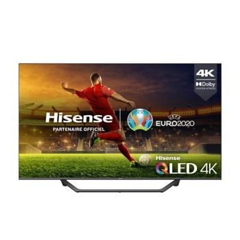"Телевизор Hisense 65A7GQ, 65"" (165.10 cm) 4K/UHD QLED Smart TV, HDR, DVB-T2/C/S2, LAN, Wi-Fi, Bluetooth, 3x HDMI, 2x USB image"