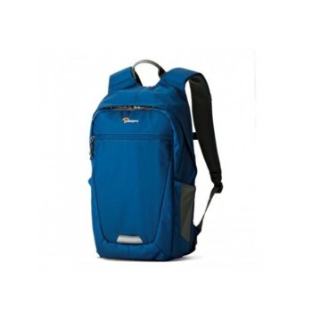 Чанта за фотоапарат Lowepro Photo Hatchback BP 150 AW II за компактни камери, водоустойчив полиестер, синя image