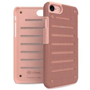 Калъф за Apple iPhone 8, стоманен, iPaint Pink MC 141003, удароустойчив, розов image