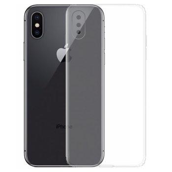 Калъф за Apple iPhone X, силиконов, прозрачен image