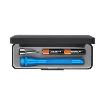 Фенер Mini MAGLITE M3A112, 2 батерии AAA, 9 lm, водоустойчивост, син image