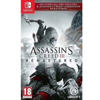 Игра за конзола Assassin's Creed III Remastered + All Solo DLC & Assassin's Creed Liberation, за Nintendo Switch image