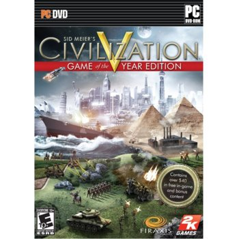 Civilization V Game of The Year product