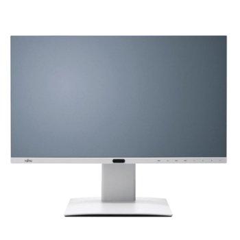 """Монитор Fujitsu P27-8 TE Pro, EU, (S26361-K1609-V140) 27"""" (68.58 cm) IPS панел, WQHD, 5ms, 20,000,000:1, 350 cd/m2, DisplayPort, HDMI, DVI, USB  image"""